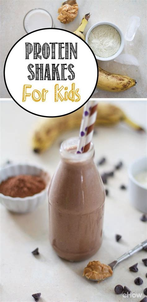 How to Make Homemade Protein Shakes for Kids   Homemade
