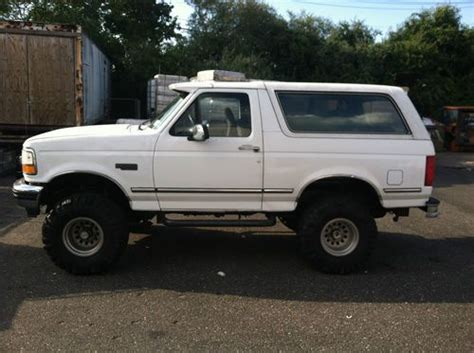 how to fix cars 1992 ford f250 security system buy used 92 bronco xlt manual in mastic beach new york united states for us 3 600 00
