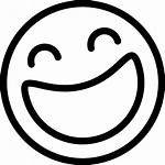 Laughing Icon Face Emoji Icons Smiley Line