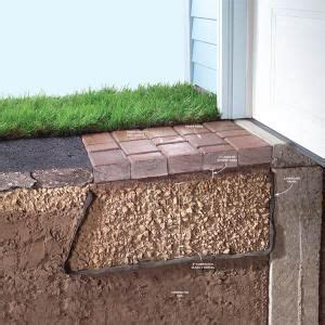 How to Fix a Sinking Driveway   Concrete & Brick   Garages