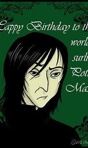 Belated Happy Birthday Professor Snape by ErisConstance on ...