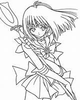 Saturn Sailor Coloring Moon Colorear Para Saturno Pages Dibujos Pinturas Inspo sketch template