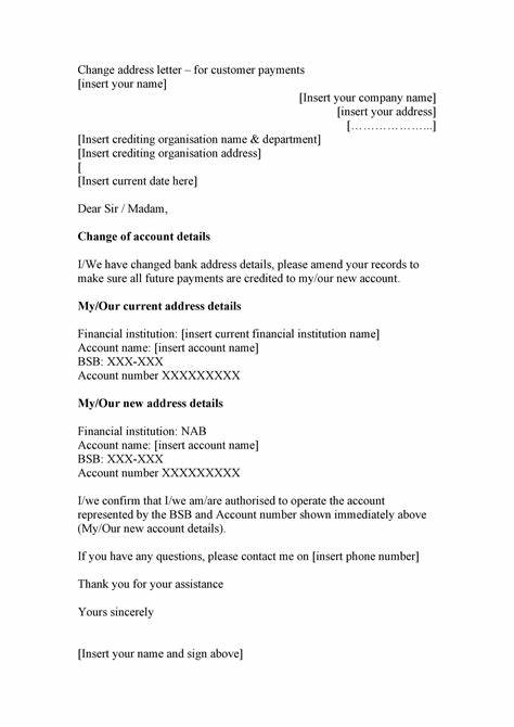 From www.signnow.com keep it simple and direct to the point. Letter Template Providing Bank Details / 25 Best Proof Of ...