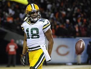 Randall Cobb Photos Photos - Green Bay Packers v Chicago ...