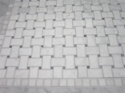 carrara basketweave silver shadow grout guest bath pinterest colors powder and carrara
