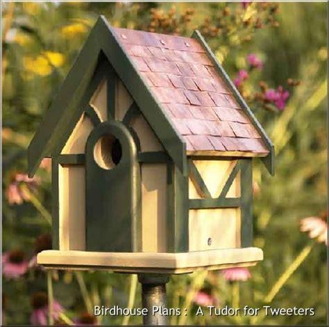 nuthatch birdhouse plans details backyard arbor