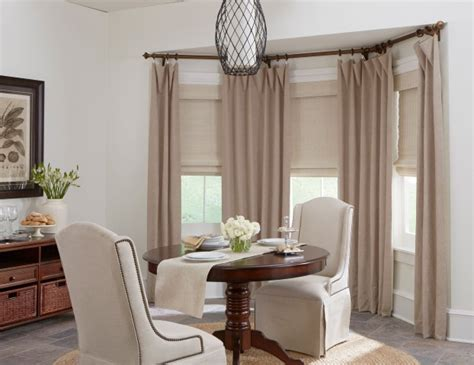 Drapery Hardware For Bay Window by Top 5 Window Treatments For Bay Windows Budget Blinds