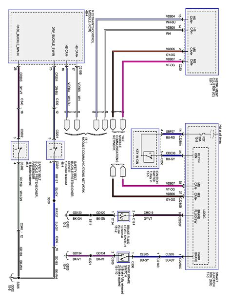 2006 Ford F 250 Backup Light Wiring Diagram by 2009 Ford Focus My Parking Brake Light Is On All The Time