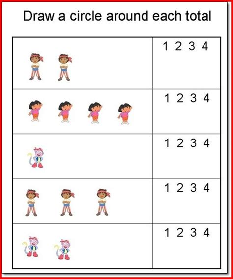 free printable preschool worksheets for age 3 4