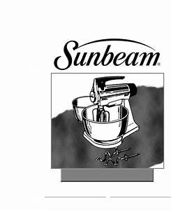 Sunbeam Mixer 2360 User Guide