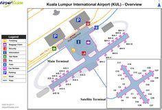 kul kuala lumpur international airport terminal map