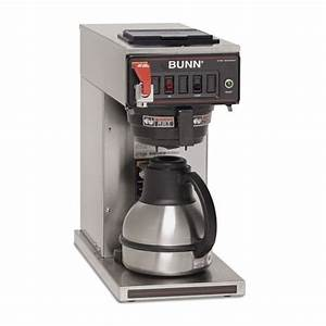 Bunn Cw Series Coffee Maker Instructions