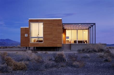 Nottoscale's Rondolino Prefab Is An Energy-efficient Home