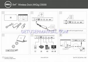 Dell Model D3100 Docking Station Manual