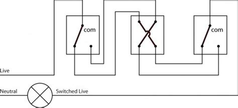 An Schematic 3 Wire Wiring Diagram by Intermediate Light Switch Wiring Light Wiring