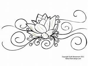 Dessin Fleurs De Lotus : fleur de lotus dessin recherche google tattoo pinterest fleurs de lotus lotus et fleur ~ Dode.kayakingforconservation.com Idées de Décoration