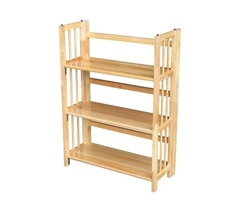 Stackable Folding Bookcase by 3 Tier Folding Stackable Bookcase College