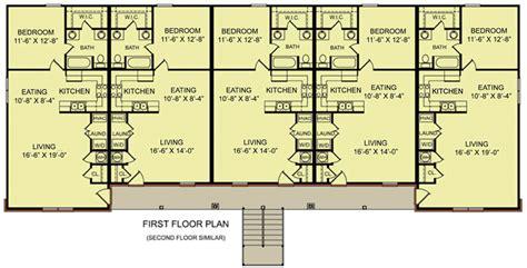 10 Unit Apartment Building Plan