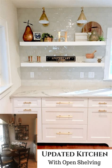 kitchen refresh ideas cred dated kitchen becomes bright and open before and after classic casual home