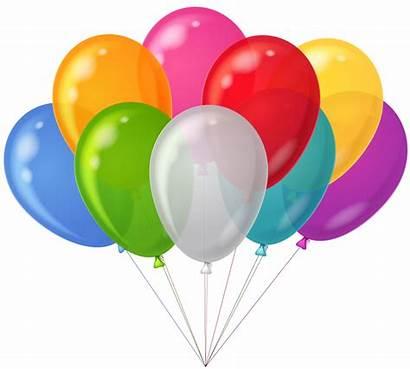 Balloons Clipart Ballons Balloon Clip Birthday Colorful