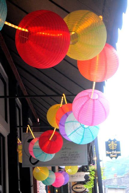 Decorating with Paper Lanterns
