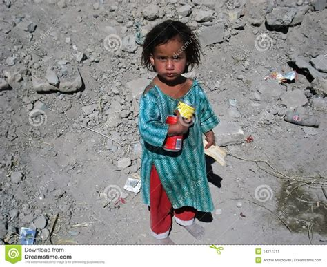 Poor Girl In Afghanistan Editorial Photo Image Of Blue