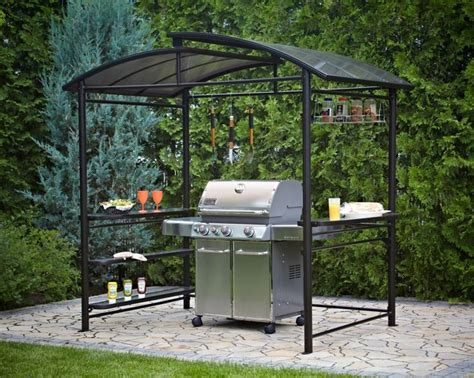 ft   ft grill gazebo  dark chocolate aussenkueche