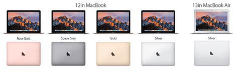 macbook air colors macbook air vs macbook which is the best lightweight mac