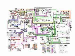 Wedgeparts  Wiring Diagrams Triumph Tr7 Parts  Tr8 Parts