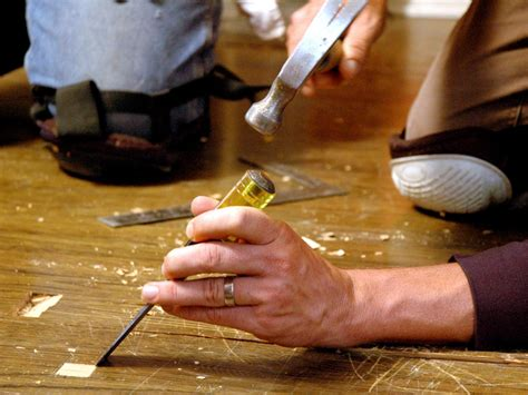 repair hardwood plank flooring  tos diy