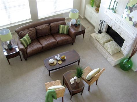 Living Room Birds Eye View by Before After Gail S Living Room