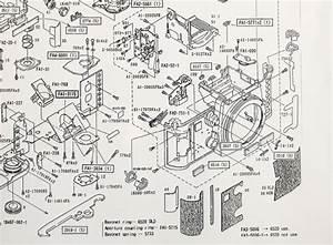 Nikon F3-p Camera Parts Diagram