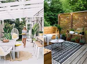 deco terrasse exterieur patio with deco terrasse With amenager une terrasse exterieure 11 amenagement exterieur jardin colmar terrasse bois cloture