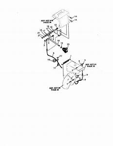 Remote Cable And Chute Diagram  U0026 Parts List For Model