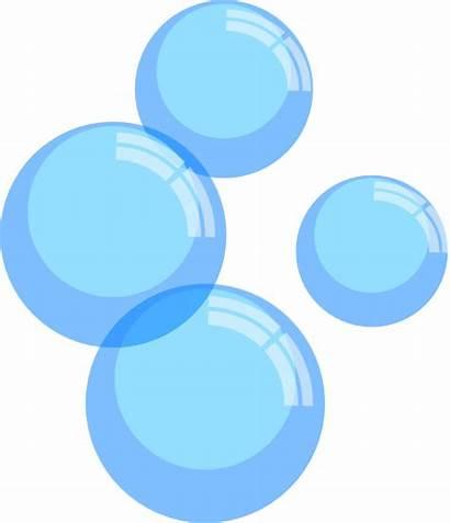 Bubbles Clker Clip Clipart Vector