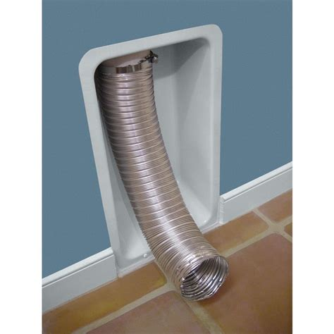 no more crushed ducts your dryer place your dryer flush with your laundry room wall