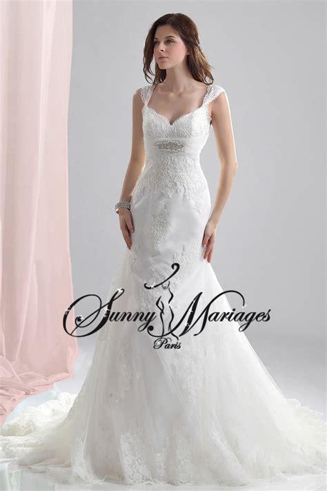robe de mariee dentelle sunny mariage