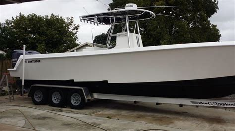 Real X Boat Trailers For Sale by 2014 Contender 35 Tournament For Sale