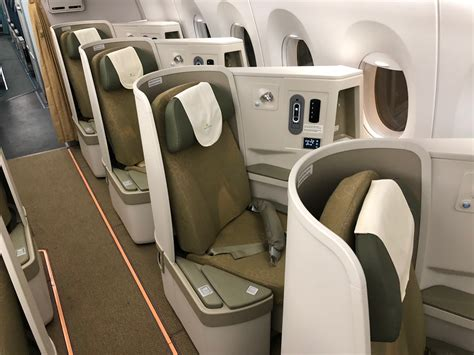size matress impressions of airlines a350 business class