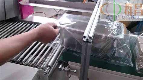 box packaging machineplastic box packing machine youtube