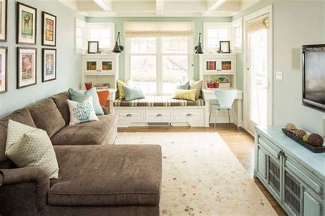 window seat designs living rooms living room window seat inviting interiors turquoaise livingl room with sofa and window