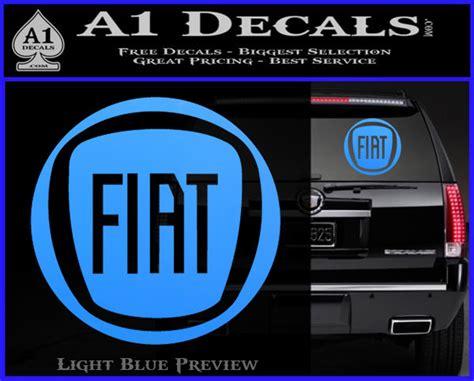 Fiat Logo Cr Decal Sticker » A1 Decals