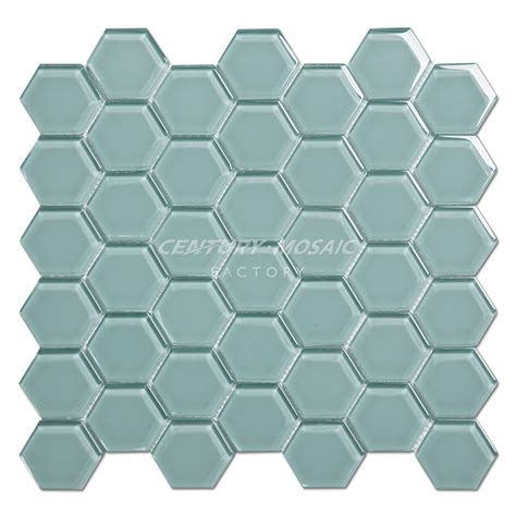 glass hexagon tile glass hexagon mosaic centurymosaic glass mosaic tile manufacturer