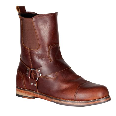 brown motorcycle boots for men spada kensington motorcycle boots brown leather motorbike