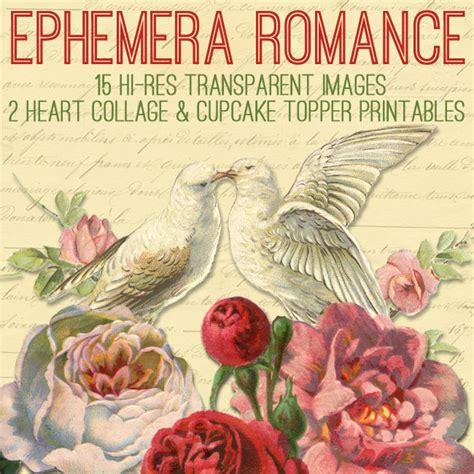 Ephemera Romance Kit Graphics Fairy Premium The