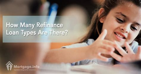How Many Refinance Loan Types Are There?