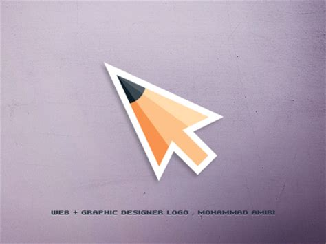 web graphic designer logo by mohammad amiri dribbble