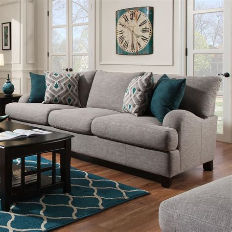 franklin paradigm  sofa  bold accent pillows