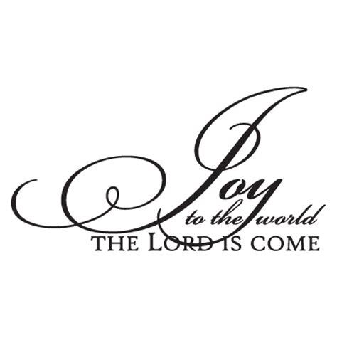 joy   world elegant script wall quotes decal wallquotescom