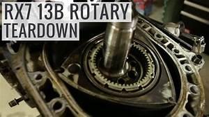 Mazda Rx7 13b Rotary Engine Teardown
